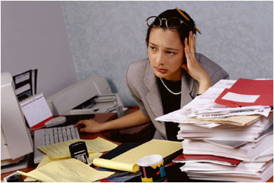 overwork at workplace stress and debt