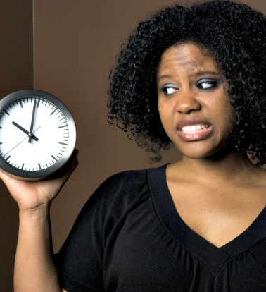 woman-clock-ticking