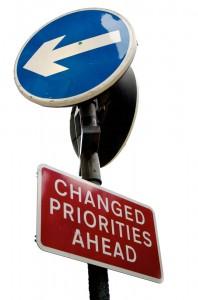 Changing-priorities