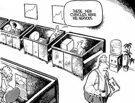 new cubicles