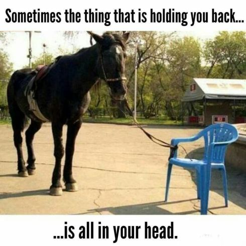 holding you back