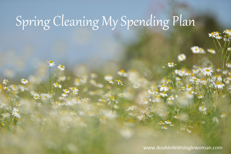 Spring cleaning my spending plan