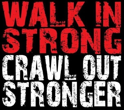 Walk In Strong Gym Quotes Double Debt Single Woman